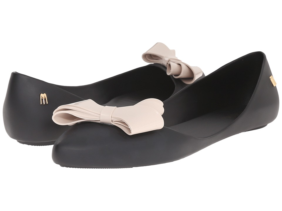 Melissa Shoes - Trippy IV (Black/Beige) Women's Shoes