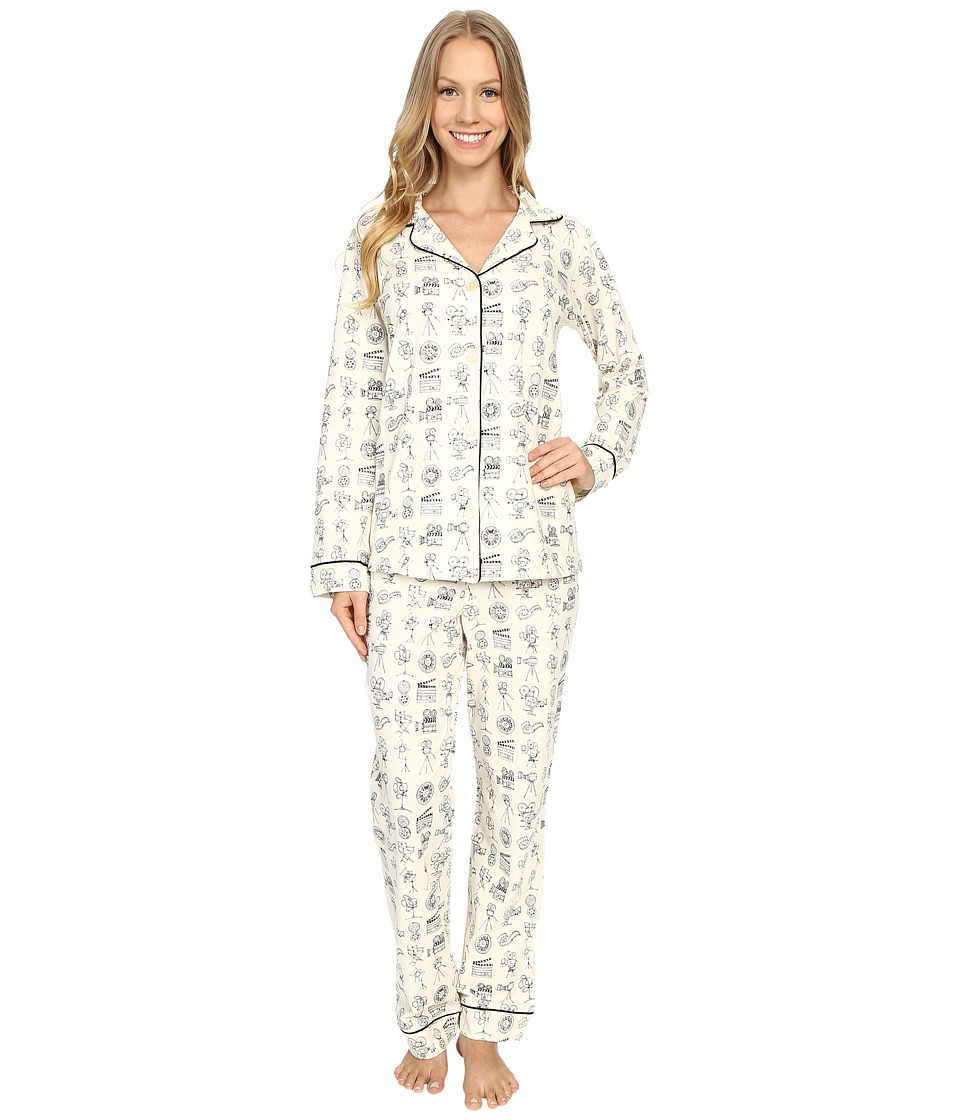 BedHead - Classic Stretch PJ Set (Lights Cam Action) Women's Pajama Sets