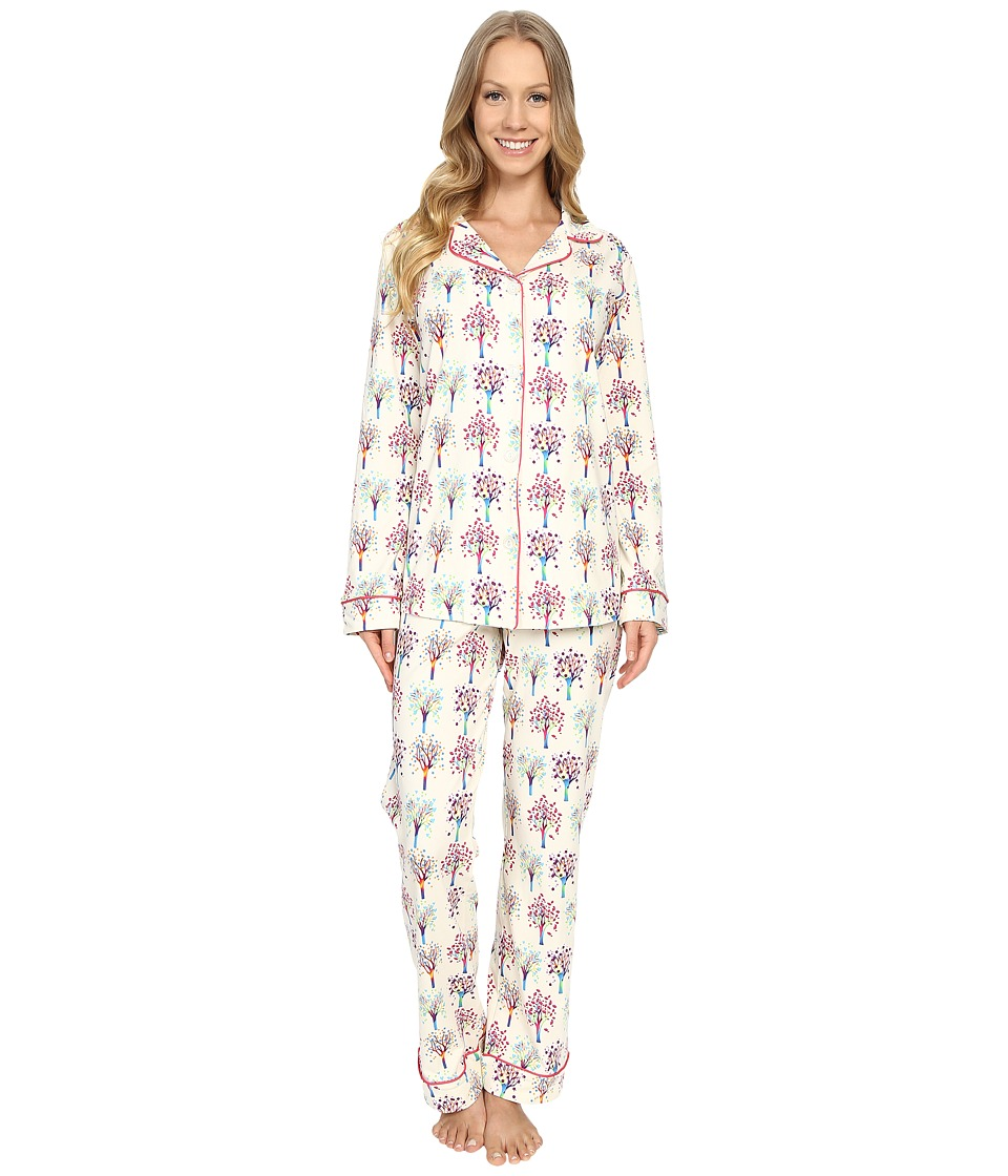 BedHead - Classic Stretch PJ Set (Tree Of Life) Women's Pajama Sets