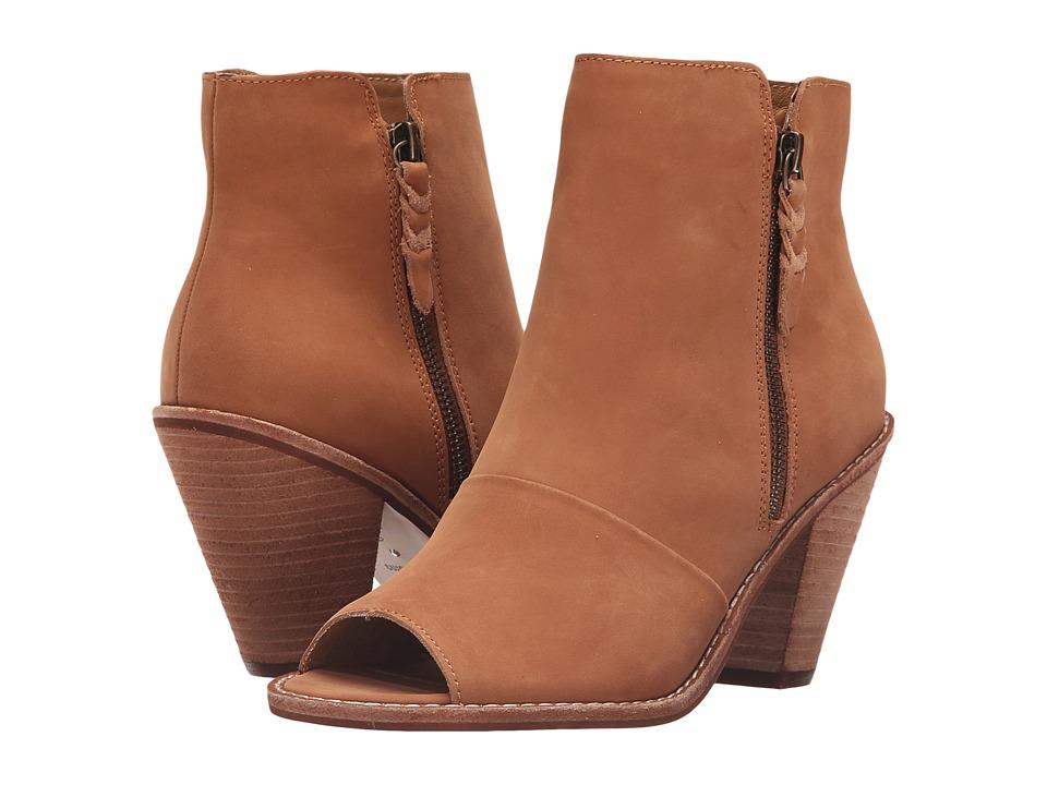 Corso Como - Tameka (Cognac Nubuck) Women's Zip Boots