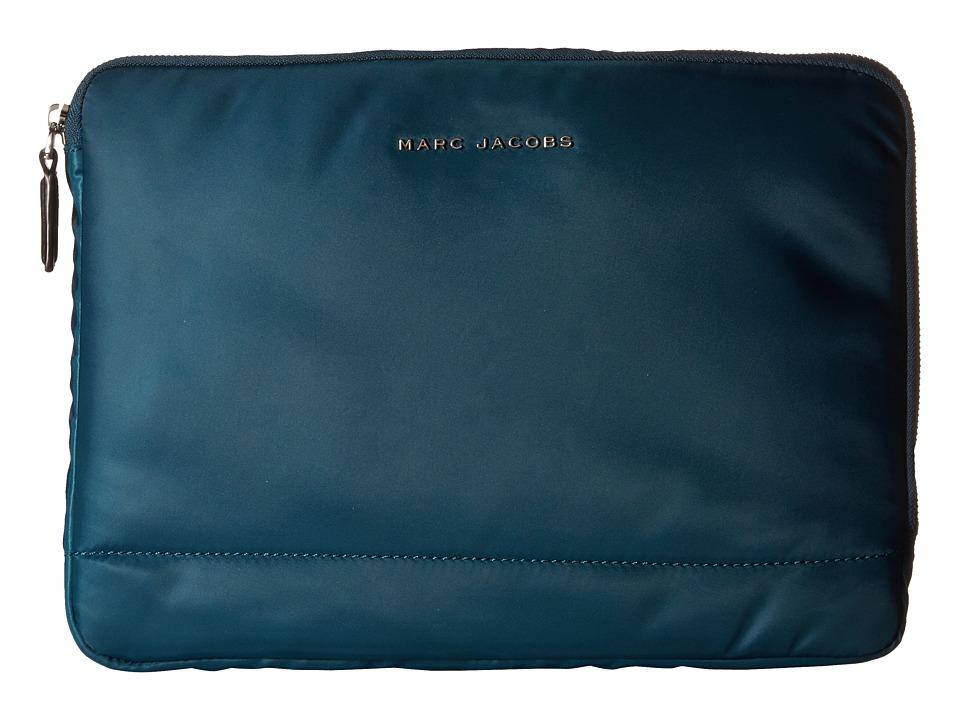 Marc Jacobs - Mallorca Tech 13 Computer Case (Teal) Computer Bags