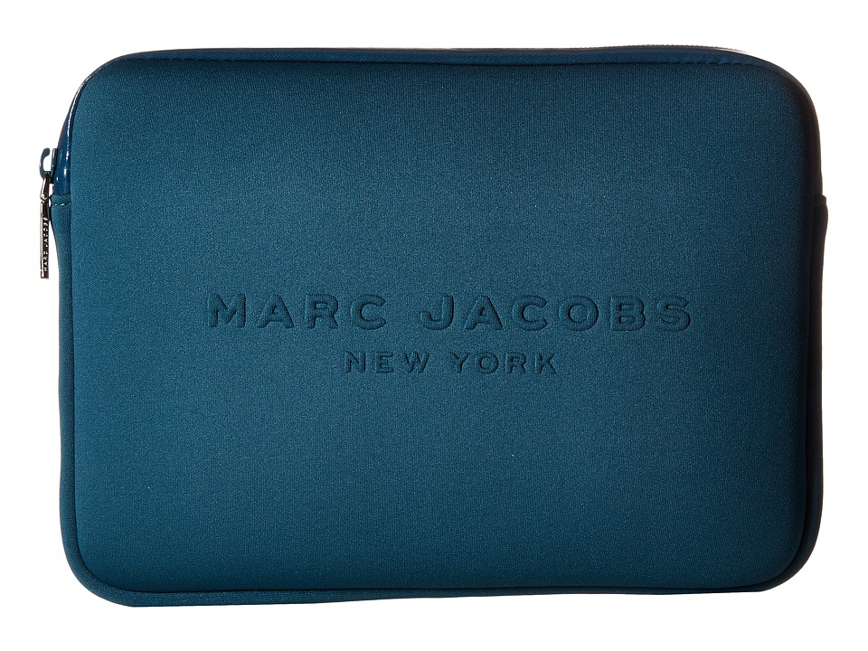 Marc Jacobs - Neoprene Tech Tablet Case (Teal) Wallet