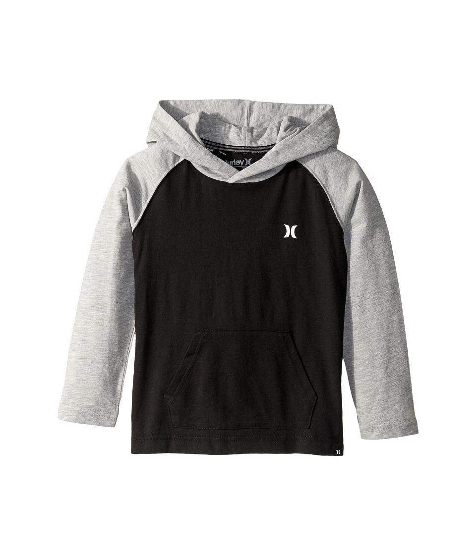Hurley Kids - Icon Pullover (Little Kids) (Black) Boy's Sweatshirt