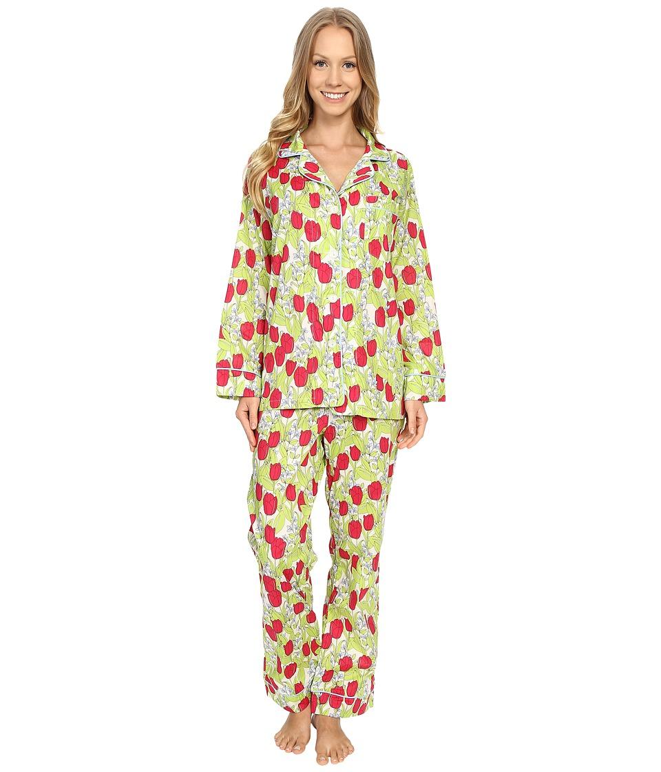 BedHead - Classic Pajamas Voile (Rouge Holland Tulip) Women's Pajama Sets
