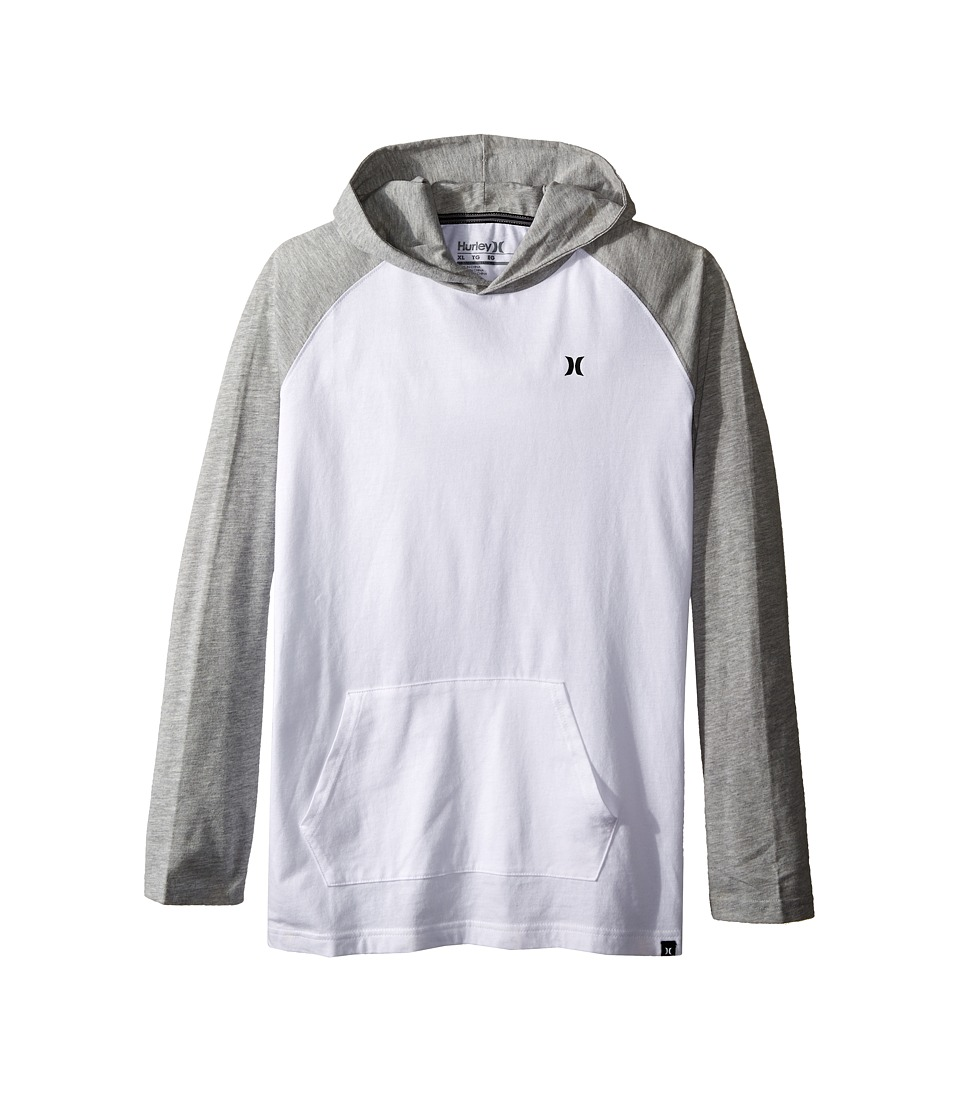 Hurley Kids - Icon Pullover (Big Kids) (White) Boy's Clothing