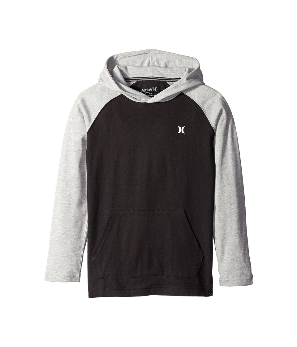 Hurley Kids - Icon Pullover (Big Kids) (Black) Boy's Clothing