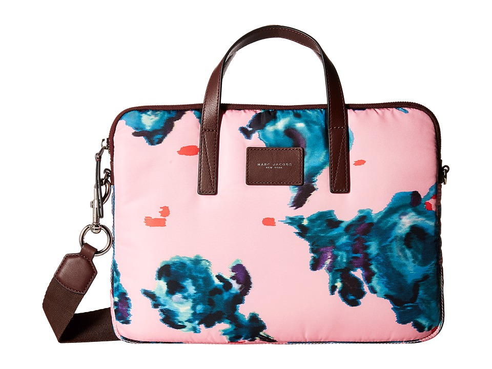 Marc Jacobs - Byot Brocade Floral Tech 13 Commuter Case (Pink Multi) Wallet