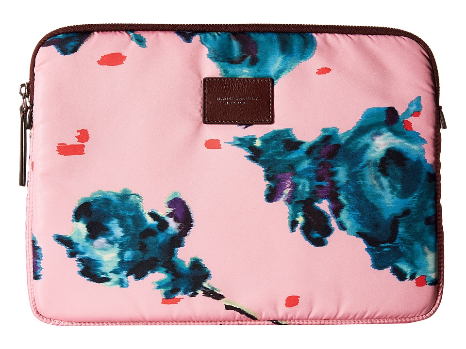 Marc Jacobs Byot Brocade Floral Tech 13 Computer Case (Pink Multi) Computer Bags