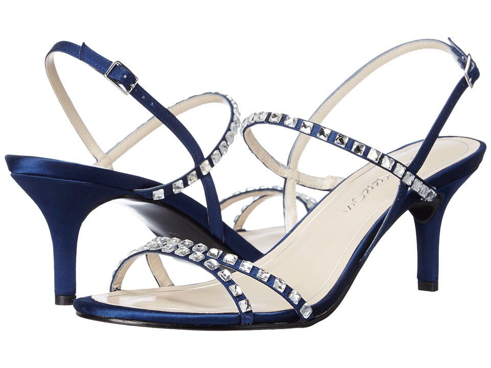 Caparros - Christine (Navy New Satin) Women's Sandals