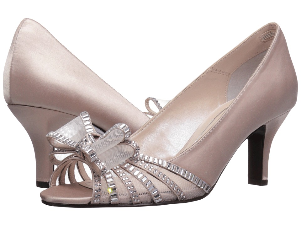 Caparros Diandra (Light Nude New Satin) High Heels
