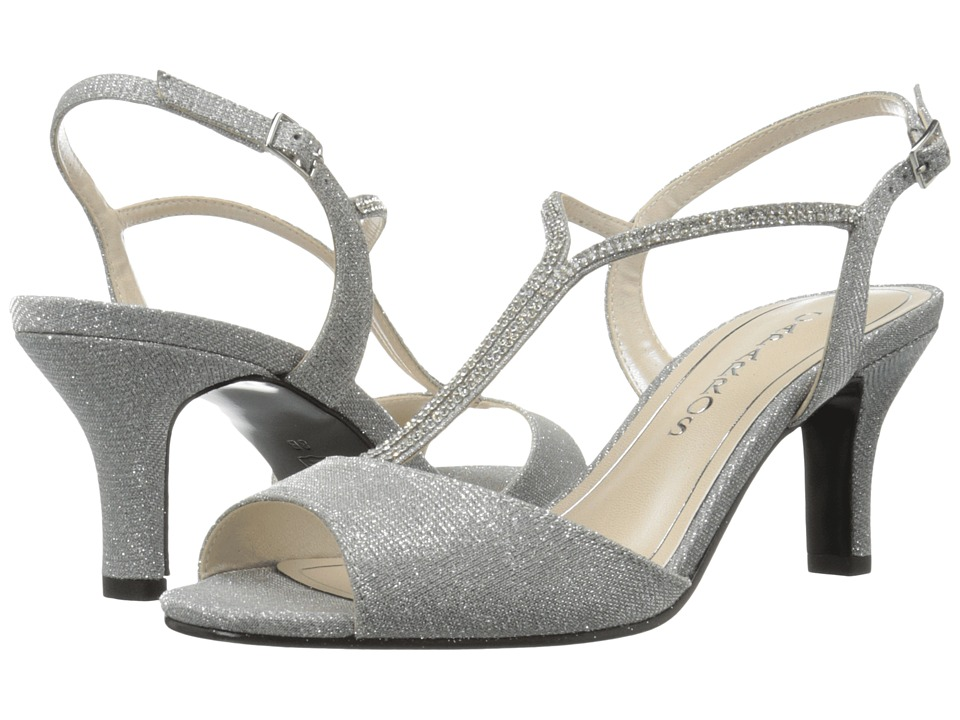 Caparros - Delicia (Silver Glimmer) Women's Sandals