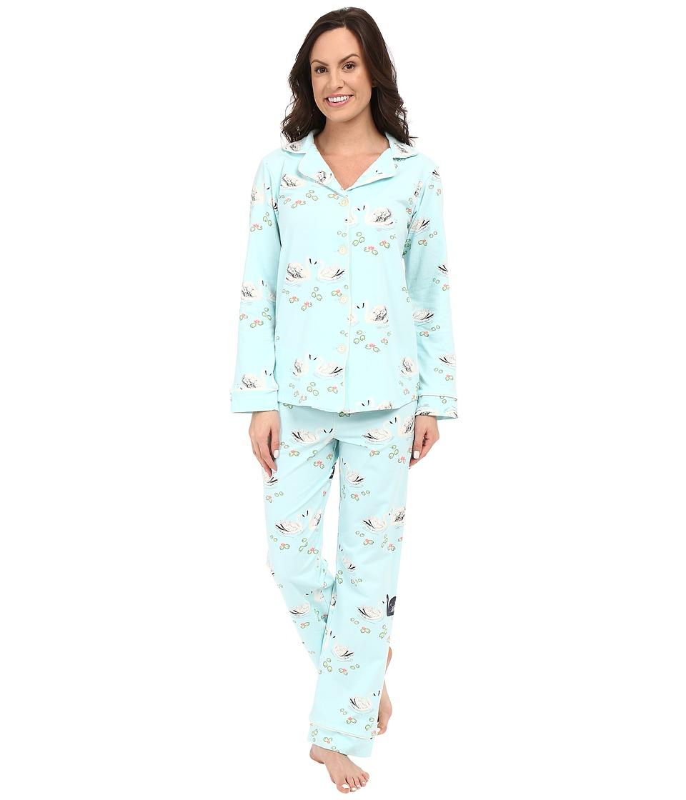 BedHead - Classic Stretch PJ Set (Swan Lake) Women's Pajama Sets