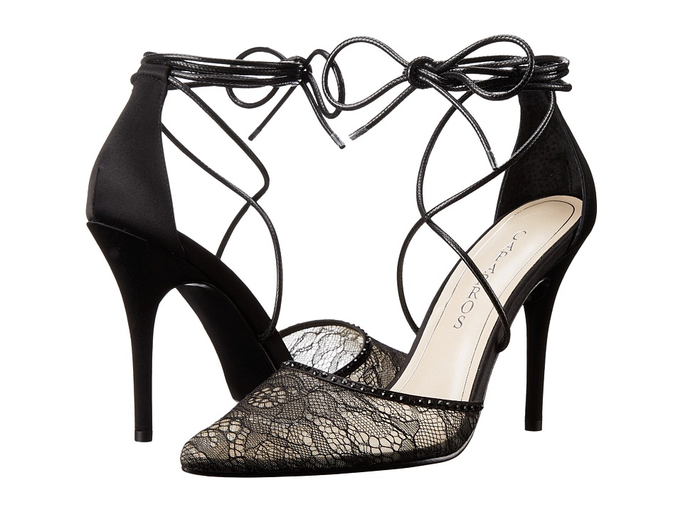 Caparros - Denise (Black Lace) High Heels