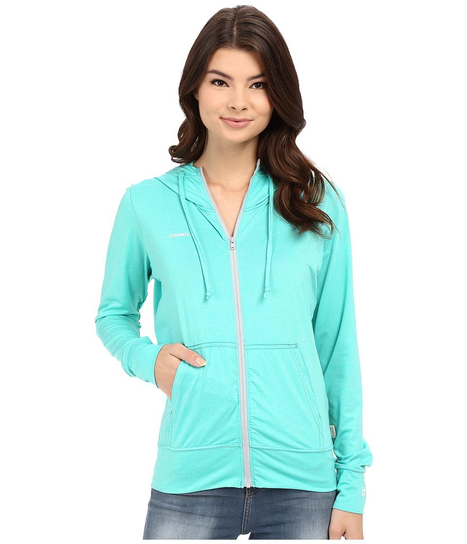 O'Neill - 24-7 Hybrid Zip Hoodie (Seaglass) Women's Sweatshirt