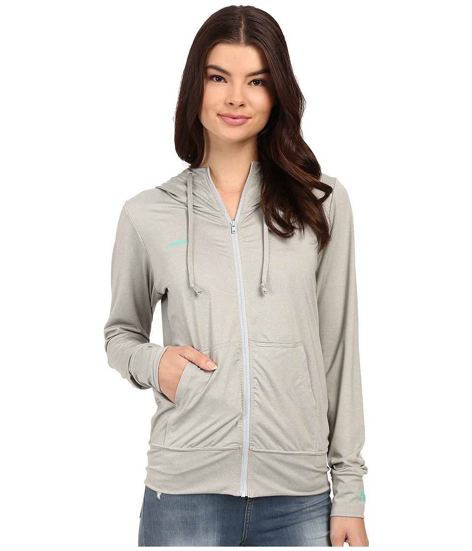 O'Neill - 24-7 Hybrid Zip Hoodie (Lunar) Women's Sweatshirt