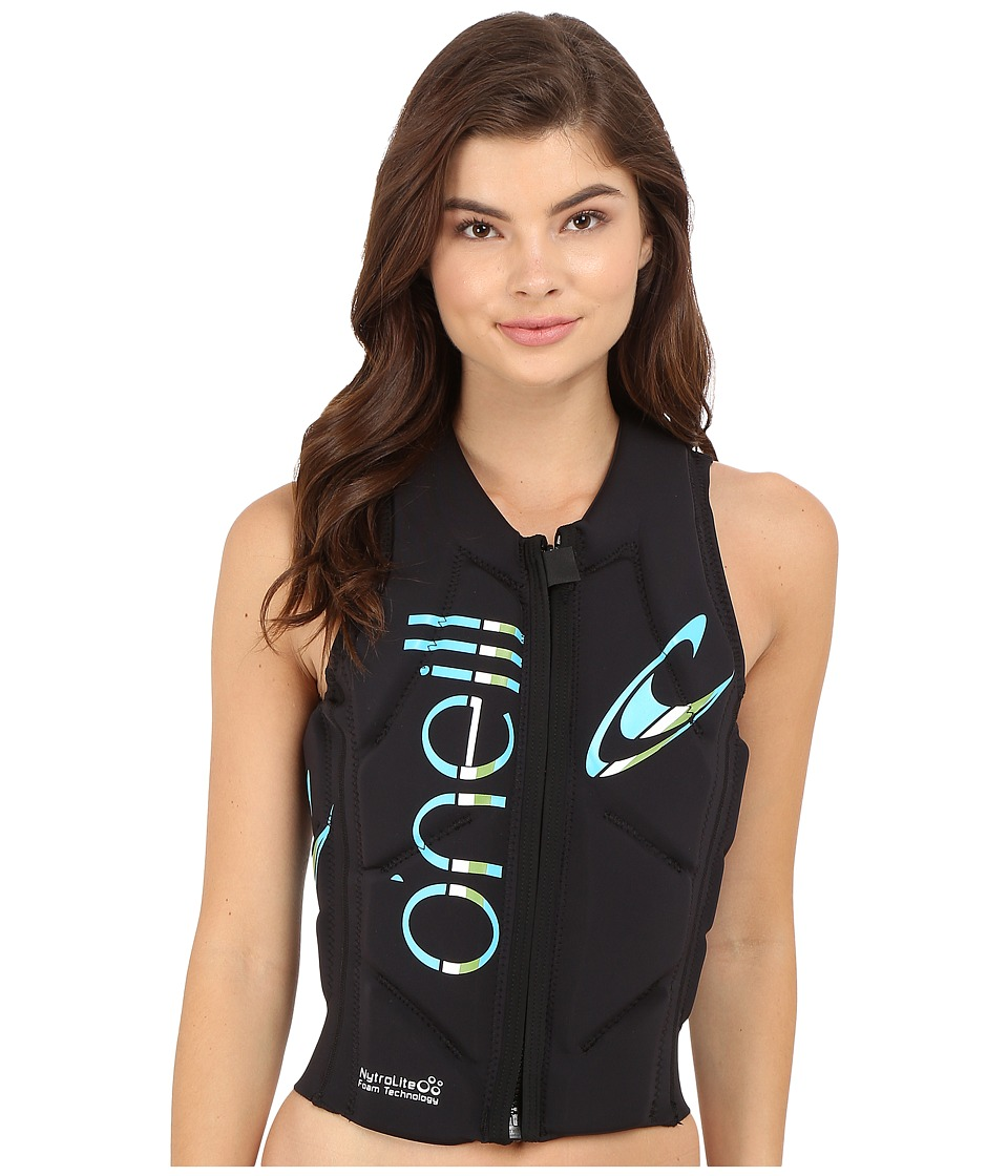 O'Neill - Slasher Comp Vest (Black/Black) Women's Vest