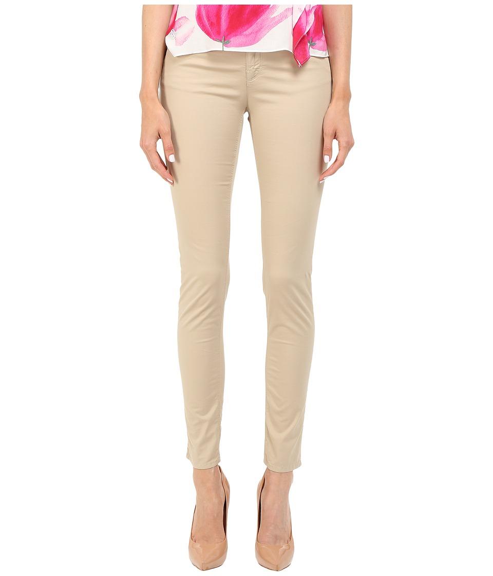 Armani Jeans - Garment Dyed Pant in Beige Fit J28 (Beige Fit J28) Women's Casual Pants