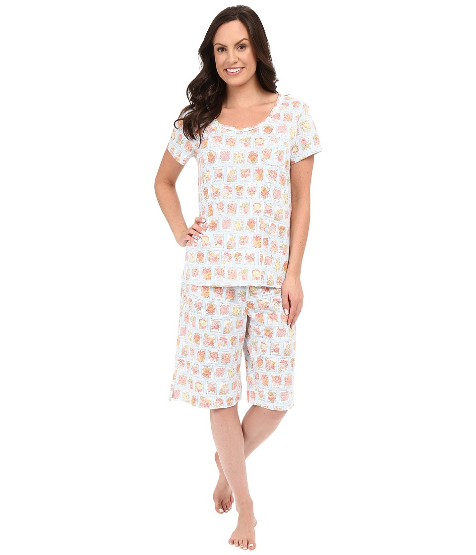 Carole Hochman - Key Item Bermuda Pajama (Seeds) Women's Pajama Sets