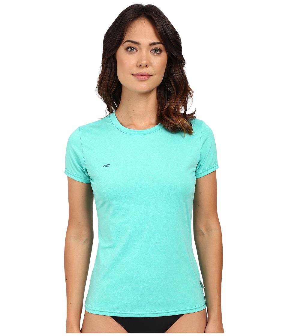 O'Neill - 24-7 Hybrid Short Sleeve Tee (Seaglass) Women's Swimwear