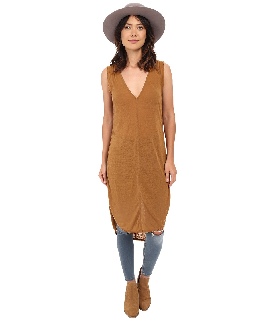 Free People - Daydreamer Tunic (Brown) Women's Sleeveless