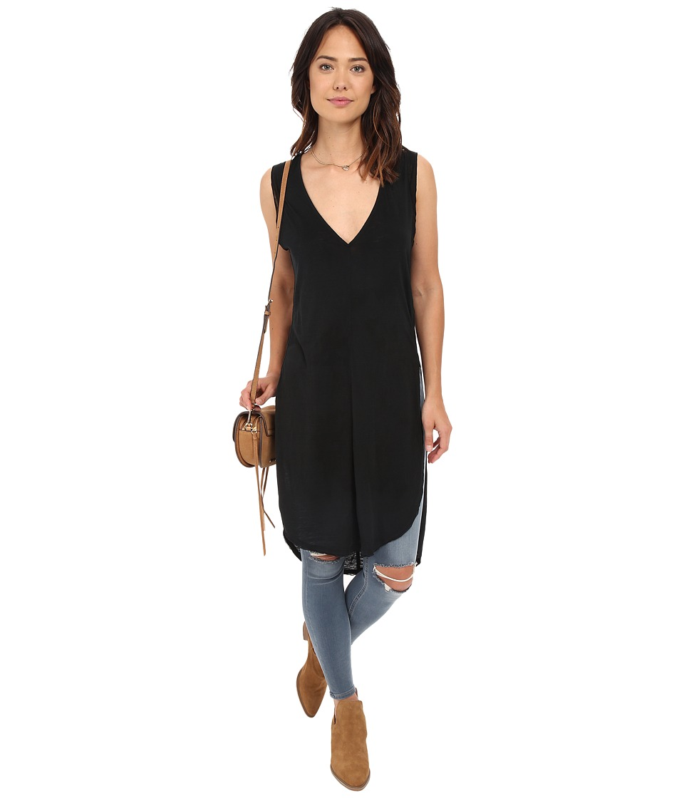 Free People - Daydreamer Tunic (Black) Women's Sleeveless