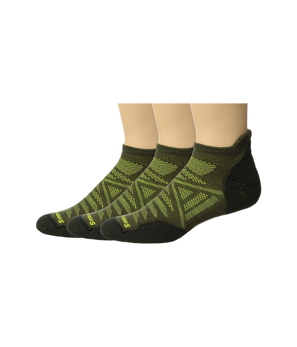 Smartwool - PhD Outdoor Light Micro 3-Pack (Loden) Crew Cut Socks Shoes