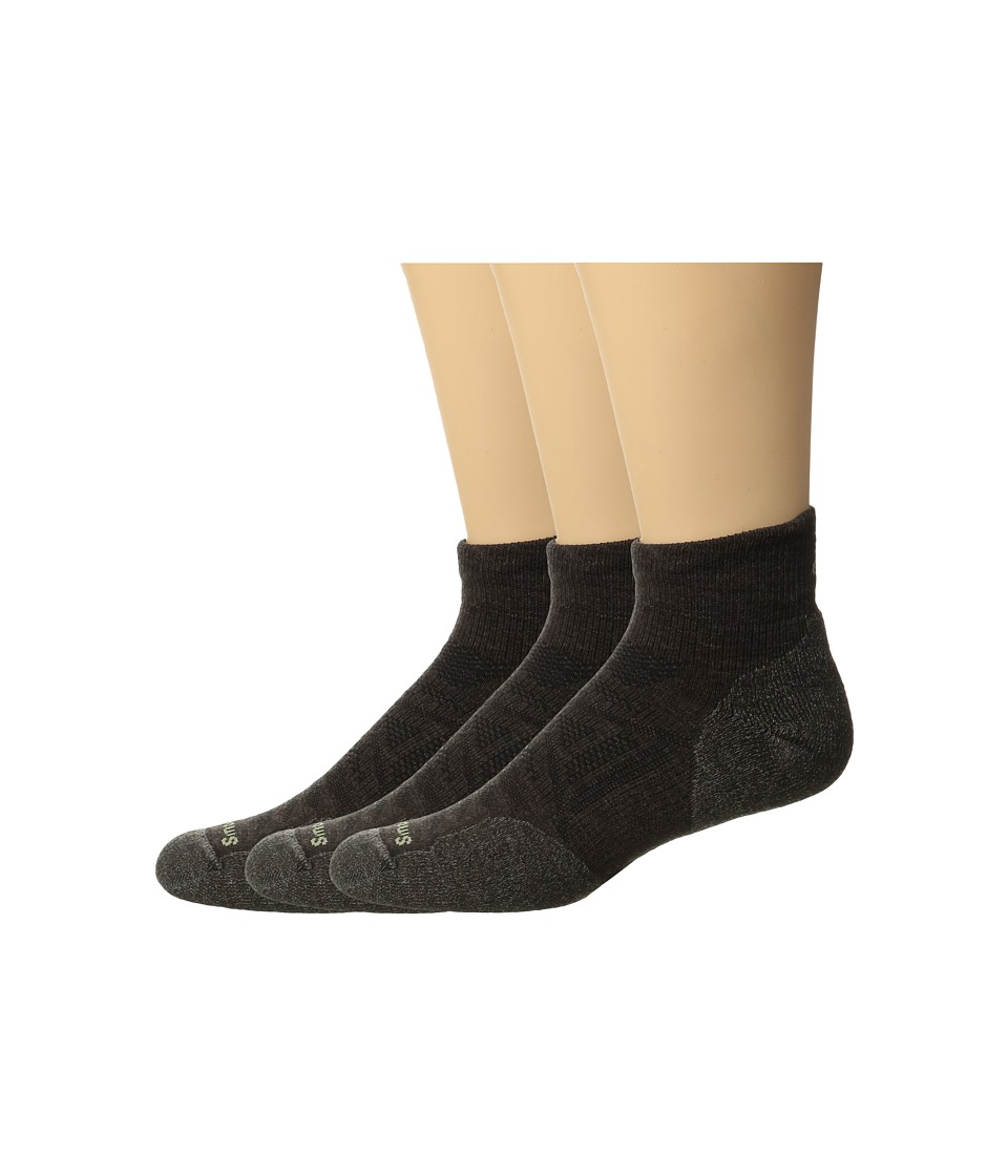 Smartwool - PhD Outdoor Light Mini 3-Pack (Chestnut) Crew Cut Socks Shoes