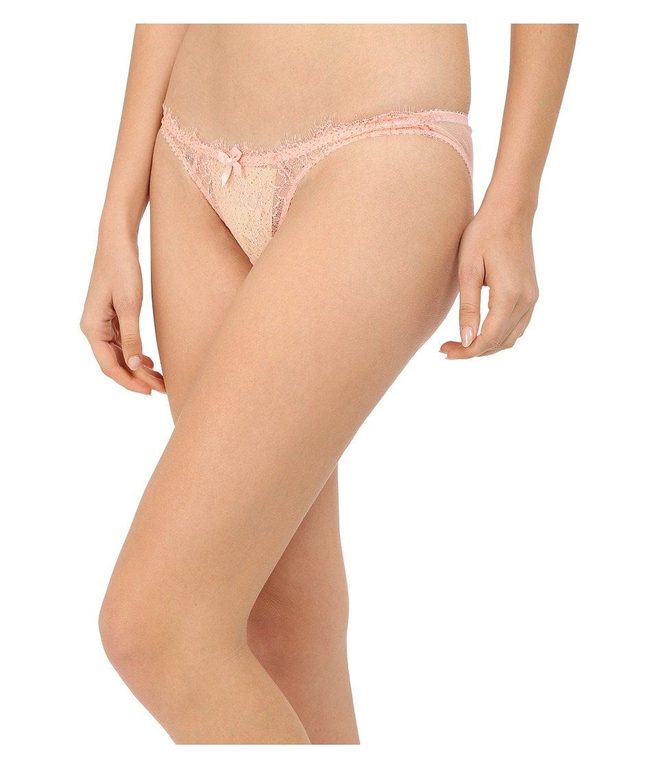 L'Agent by Agent Provocateur - Grace Mini Brief (Blush/Gold) Women's Lingerie