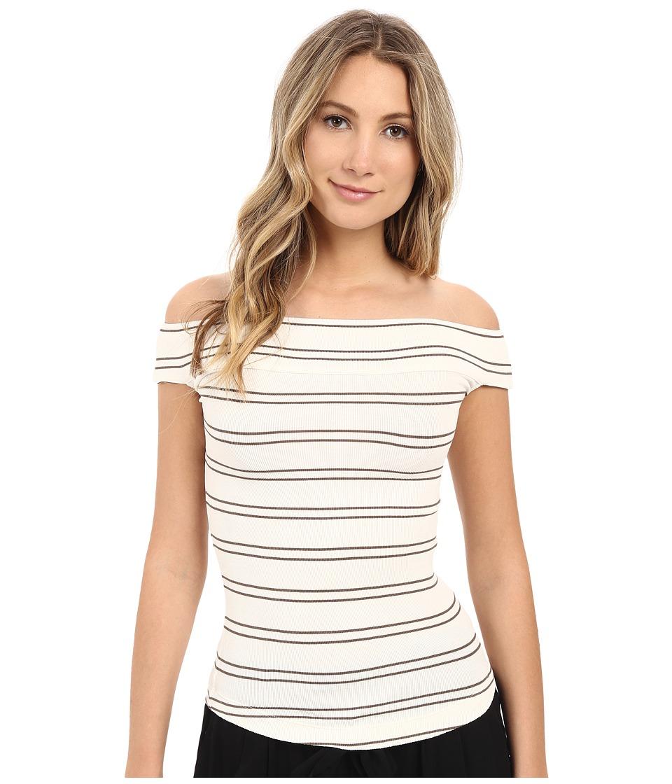 Free People - Yacht Club Tee (White Combo) Women's T Shirt