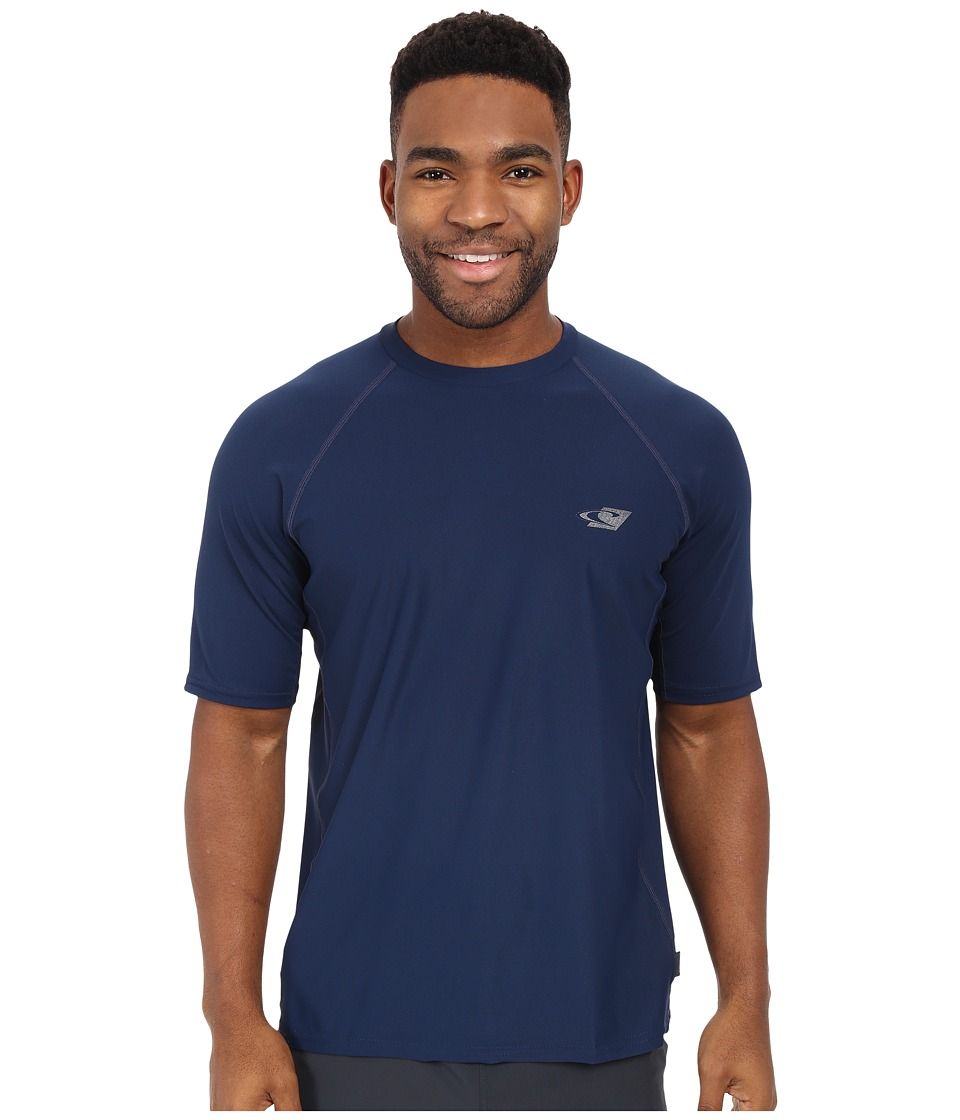 O'Neill - 24-7 Tech Short Sleeve Crew (Navy) Men's Swimwear