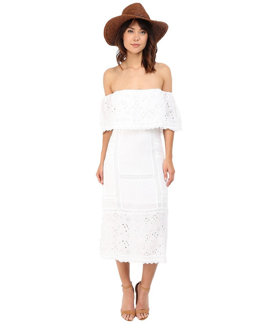 Free People - Most Beautiful Midi (Ivory) Women's Dress