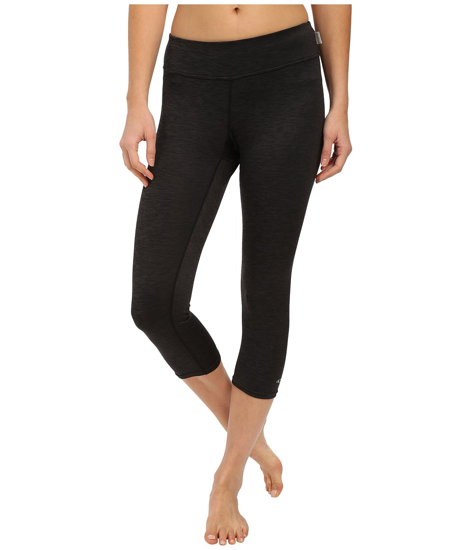 O'Neill - 24-7 Hybrid Surf Capris (Black/Black) Women's Swimwear