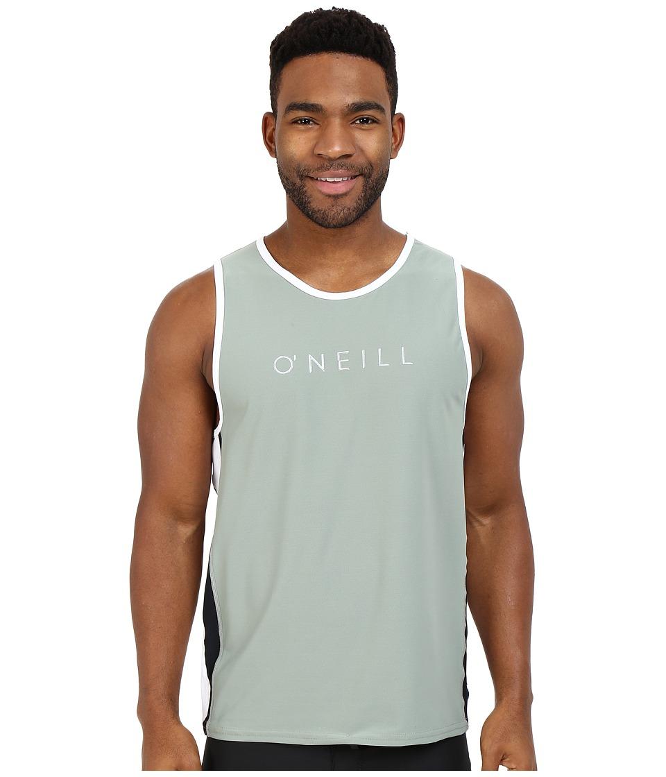 O'Neill - 24-7 Tech Tank Top (Light Olive/White/Black) Men's Swimwear