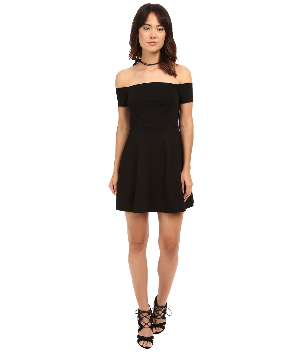 Free People - Black Mambo Mini Dress (Black) Women's Dress