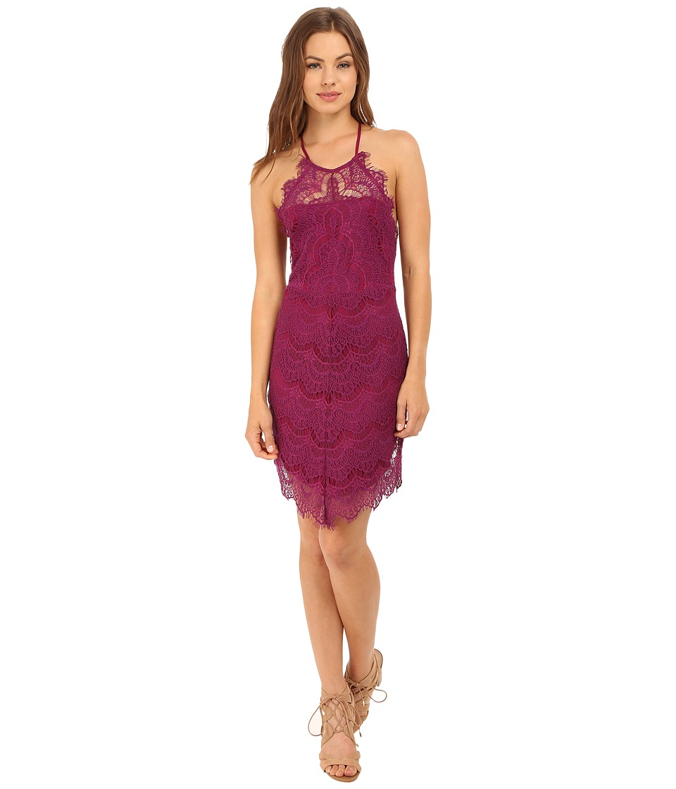 Free People - She's Got It Slip (Raspberry) Women's Dress
