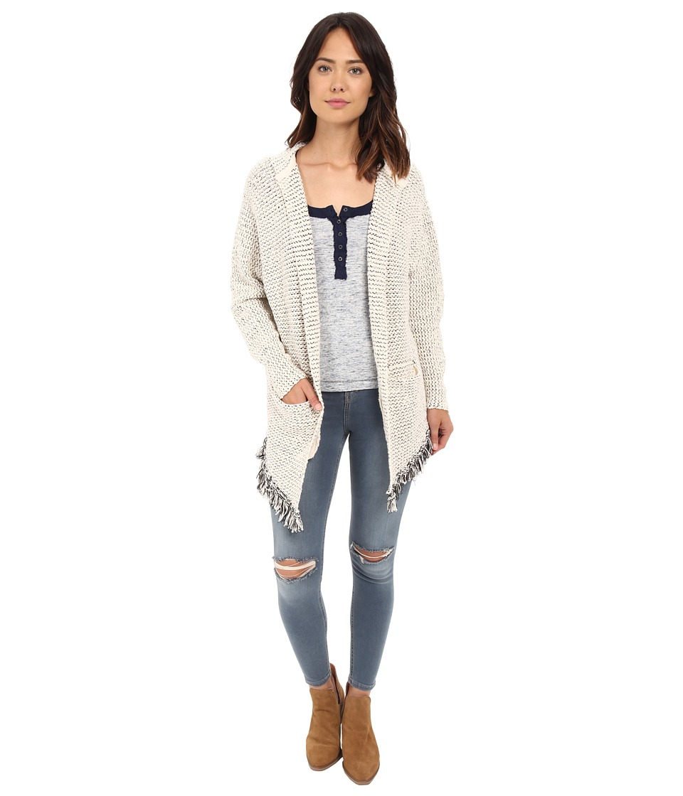 Free People - Love Me Tender Cardi (Cream Combo) Women's Sweater