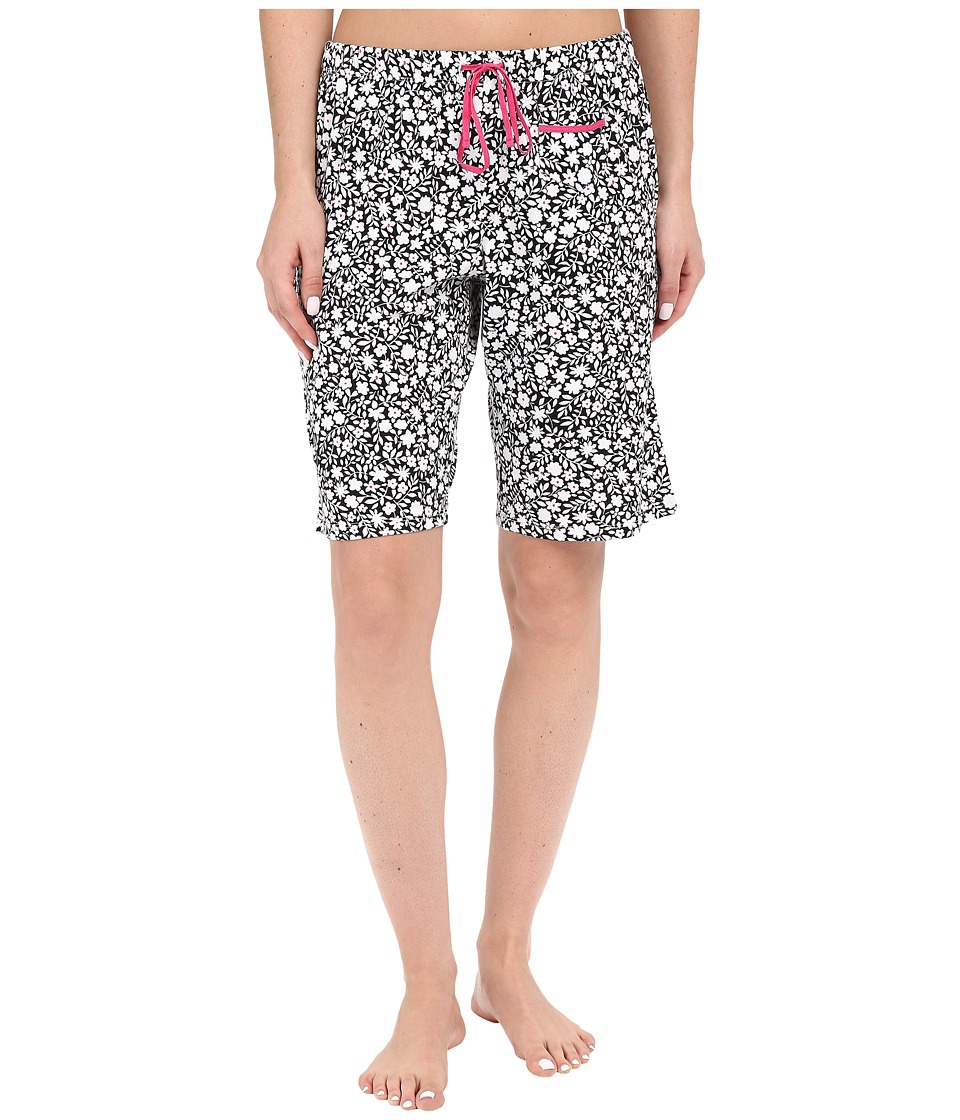 Jockey - Printed Bermuda Shorts (Outline Floral) Women's Pajama