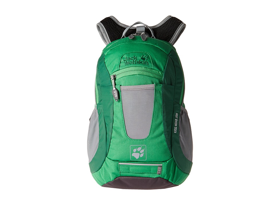 Jack Wolfskin - Moab Jam (Youth) (Seagrass) Backpack Bags