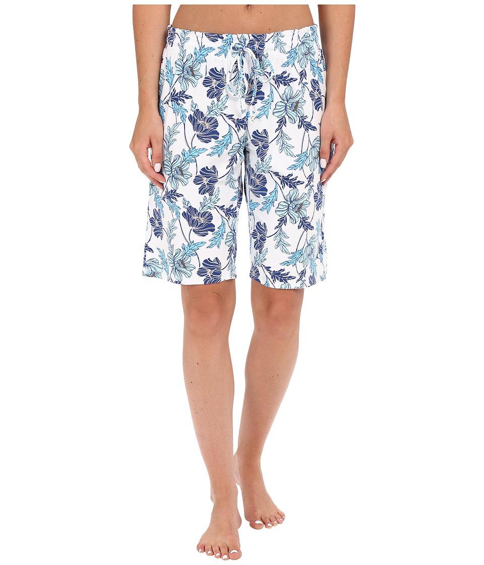 Jockey - Floral Bermuda Shorts (Poppy Floral) Women