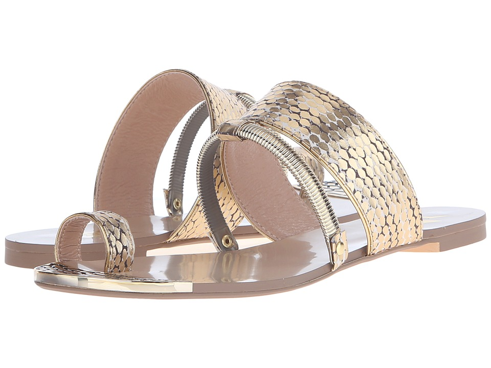LFL by Lust For Life - Dash (Gold Snake) Women's Sandals