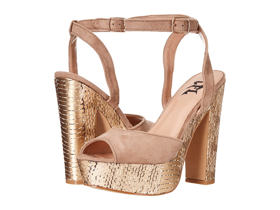 LFL by Lust For Life - Fab (Taupe) High Heels