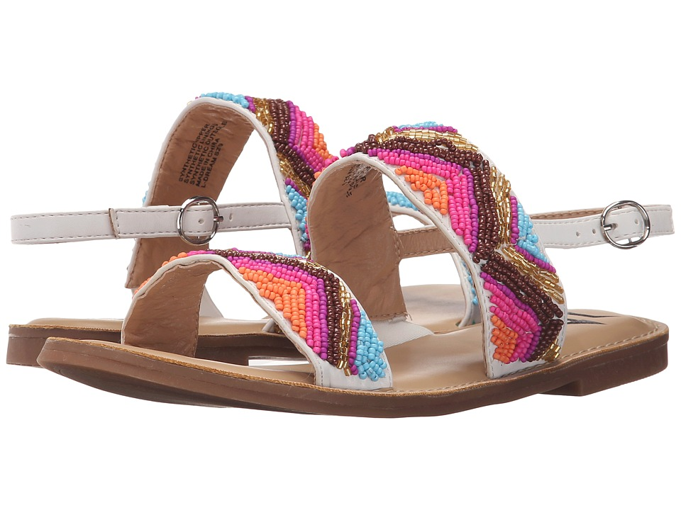 LFL by Lust For Life - Dream (White Multi) Women's Sandals