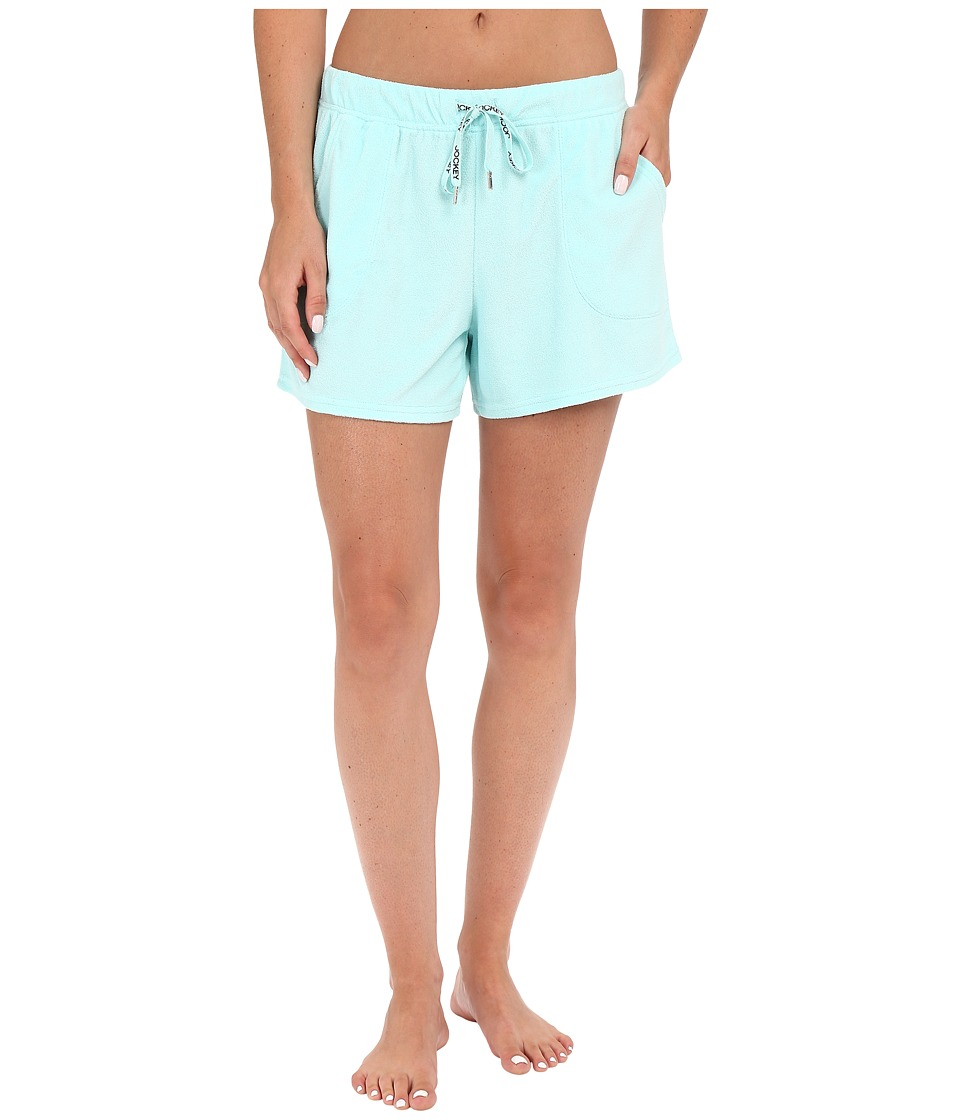 Jockey - Vintage Terry Boxer Shorts (Fresh Aqua) Women's Pajama