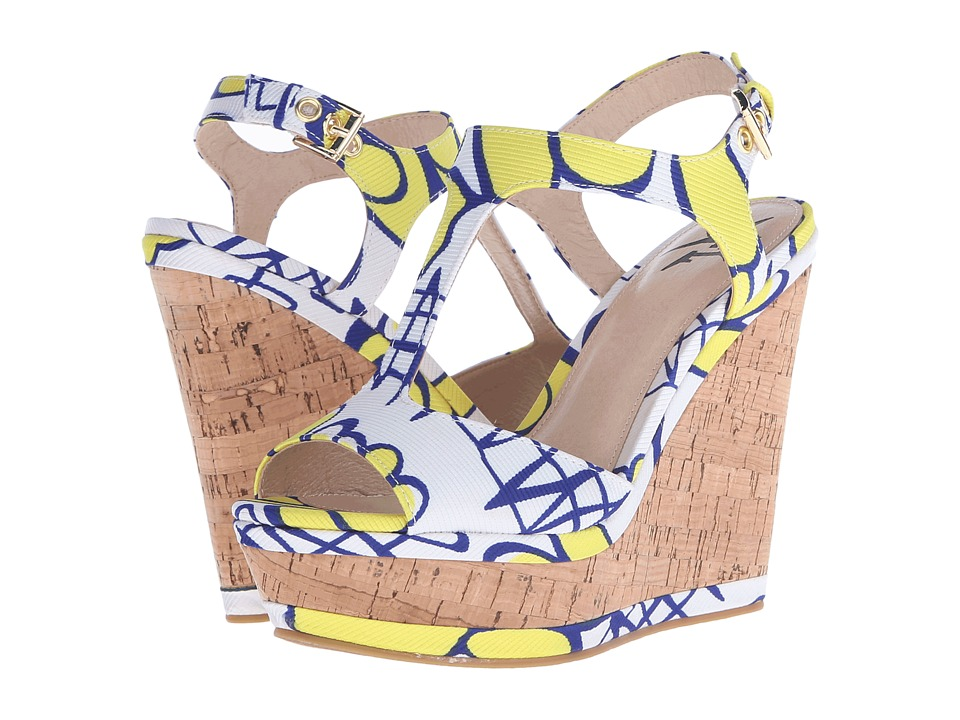 LFL by Lust For Life - Lana (Yellow Multi) Women's Wedge Shoes