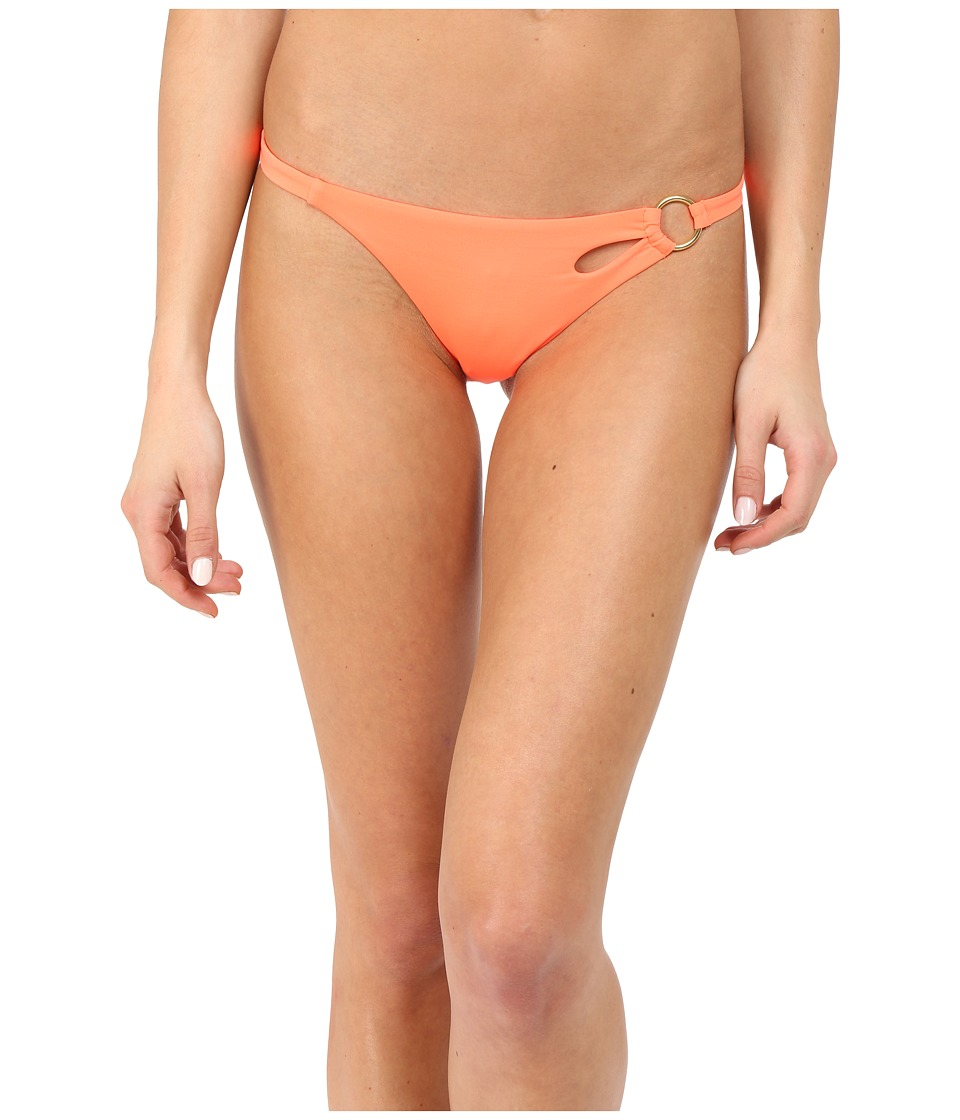 L'Agent by Agent Provocateur - Adrina Bikini Bottom (Neon Melon) Women's Swimwear