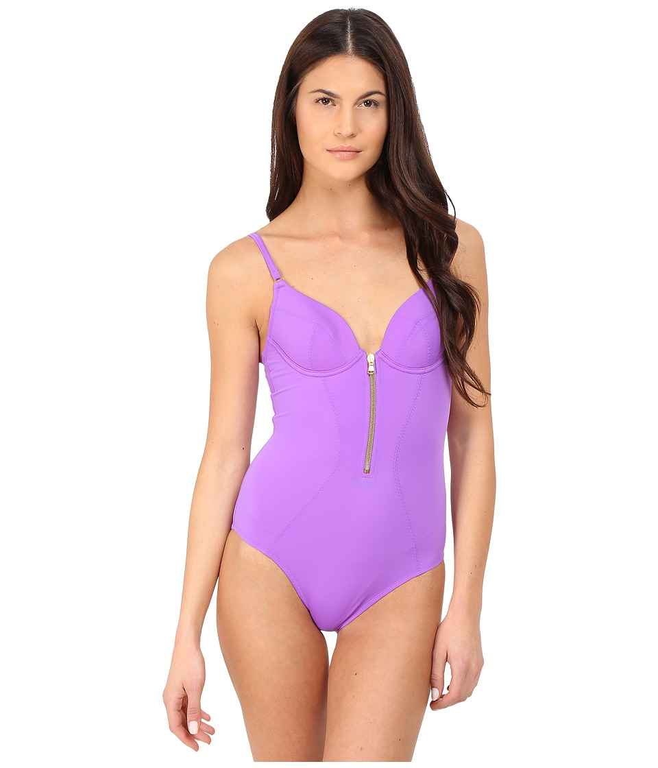 L'Agent by Agent Provocateur - Allecra Swimsuit (Violet) Women's Swimwear Sets