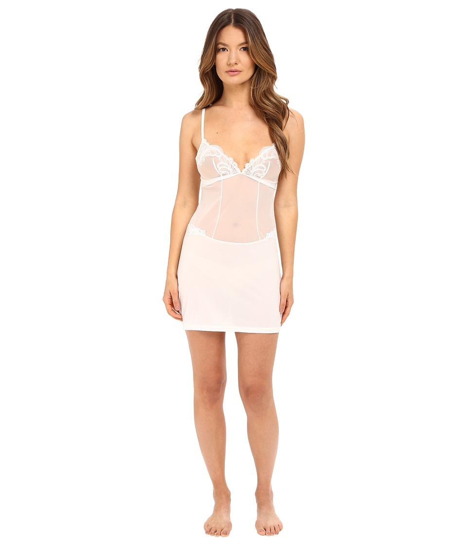 La Perla - Windflower Chemise (White) Women's Pajama
