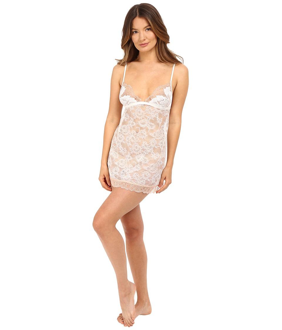 La Perla - Talisman Chemise (White/Nude) Women's Pajama