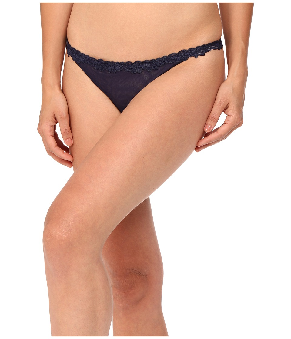 La Perla - Morgane Thong (Dark Blue) Women's Underwear