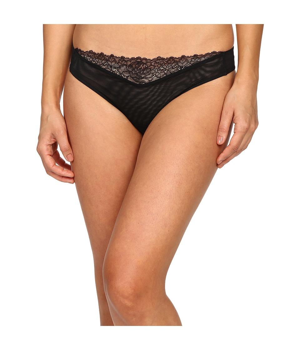 La Perla - Lace Flirt Brief (Black) Women's Underwear